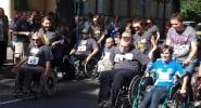 I Raciborski Bieg Bez Barier  dla osób niepełnosprawnych i ich opiekunów
