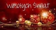 Życzenia Świąteczno Noworoczne !!!